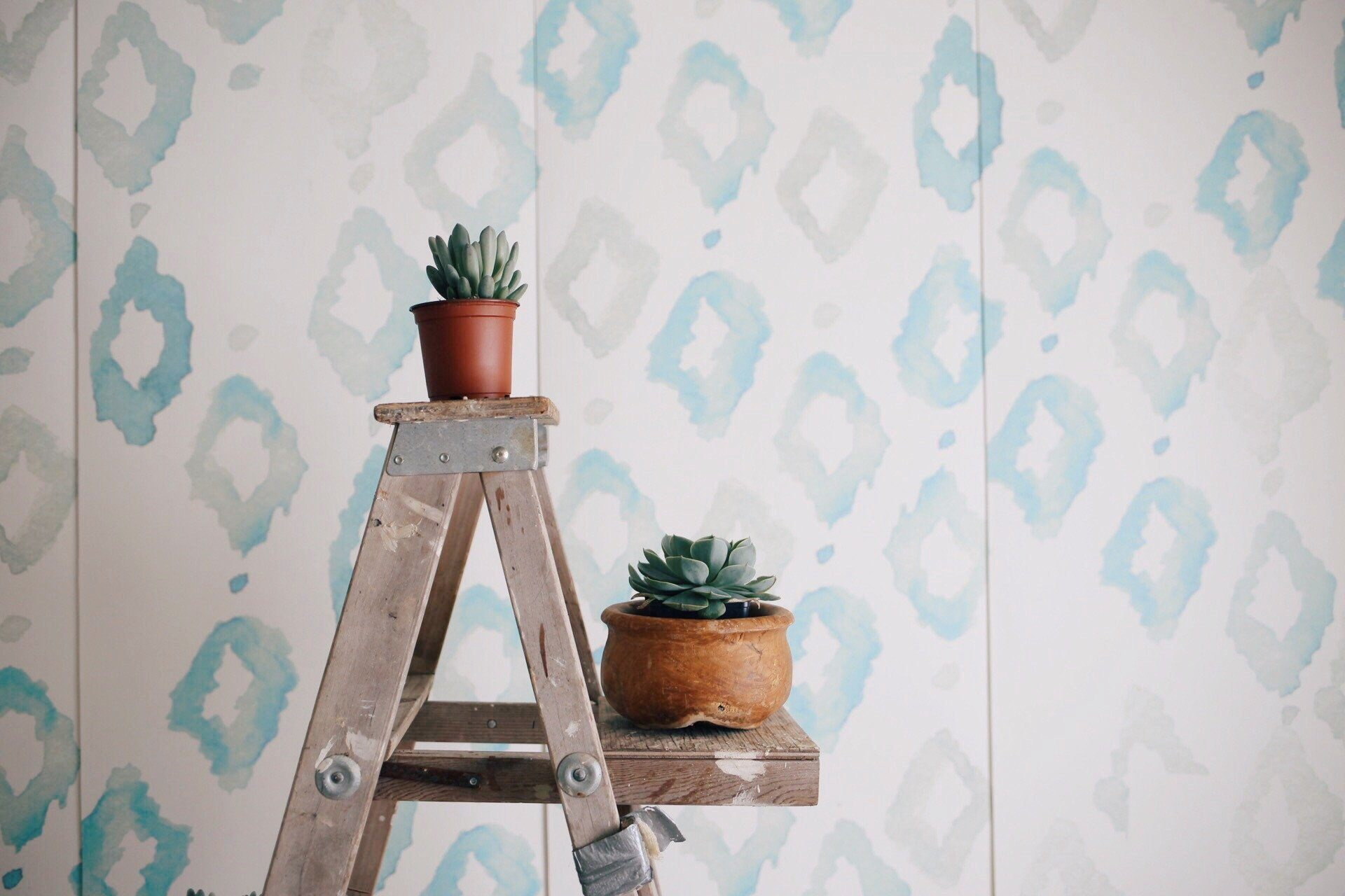 Triangles Wallpaper Mural - Project Nursery