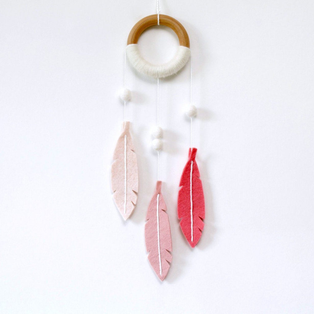 Modern Dreamcatcher Coral - The Project Nursery Shop - 2