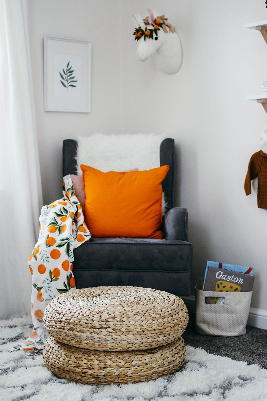 Clementine Swaddle Blanket - Project Nursery