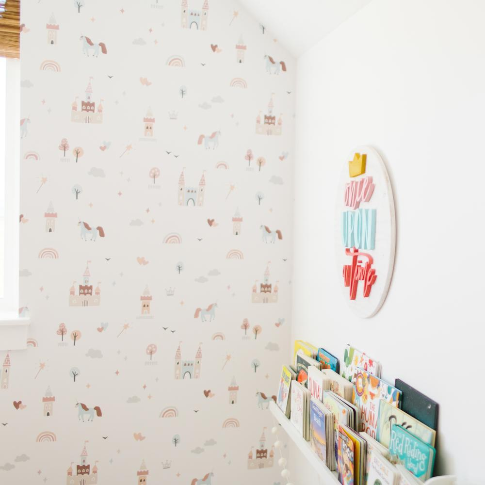 Ella Wallpaper - Project Nursery