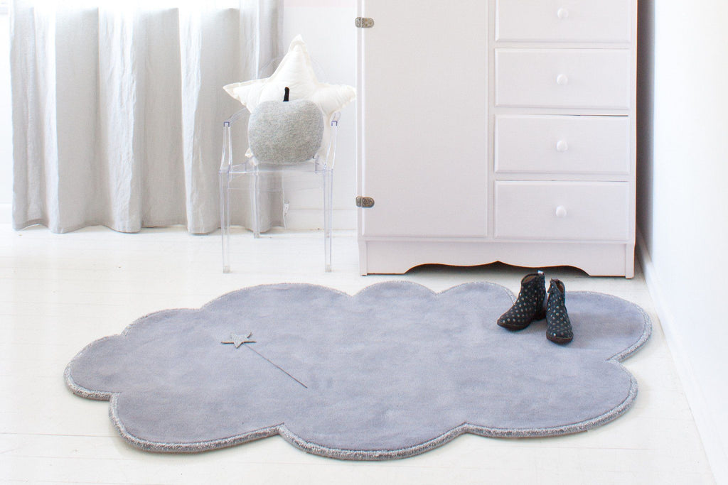 Silver Lining Cloud Rug  - The Project Nursery Shop - 8