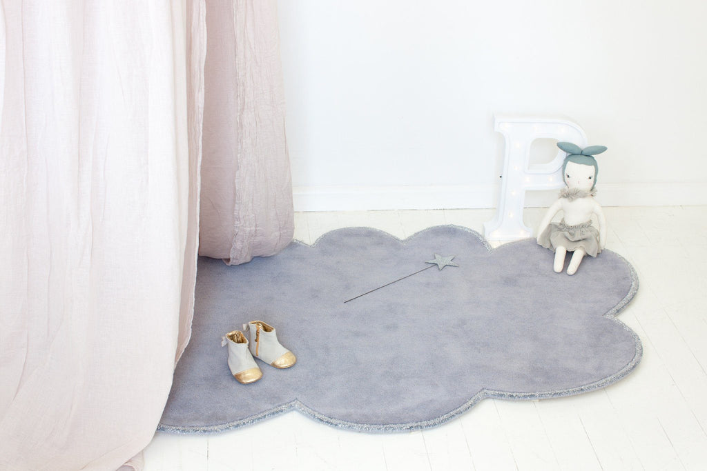 Silver Lining Cloud Rug  - The Project Nursery Shop - 7