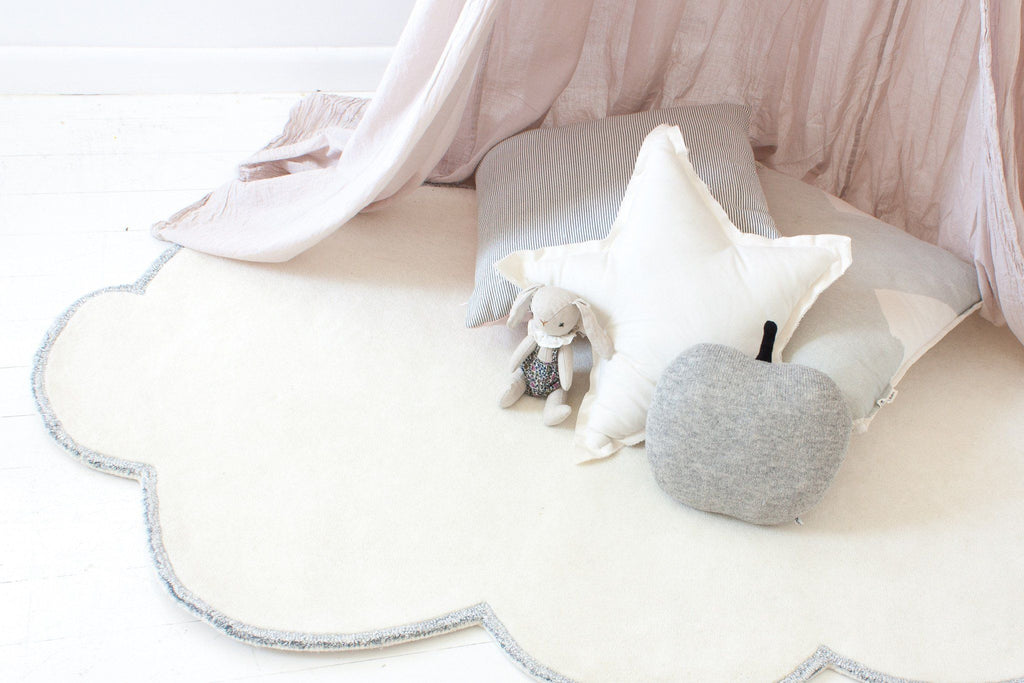 Silver Lining Cloud Rug  - The Project Nursery Shop - 3