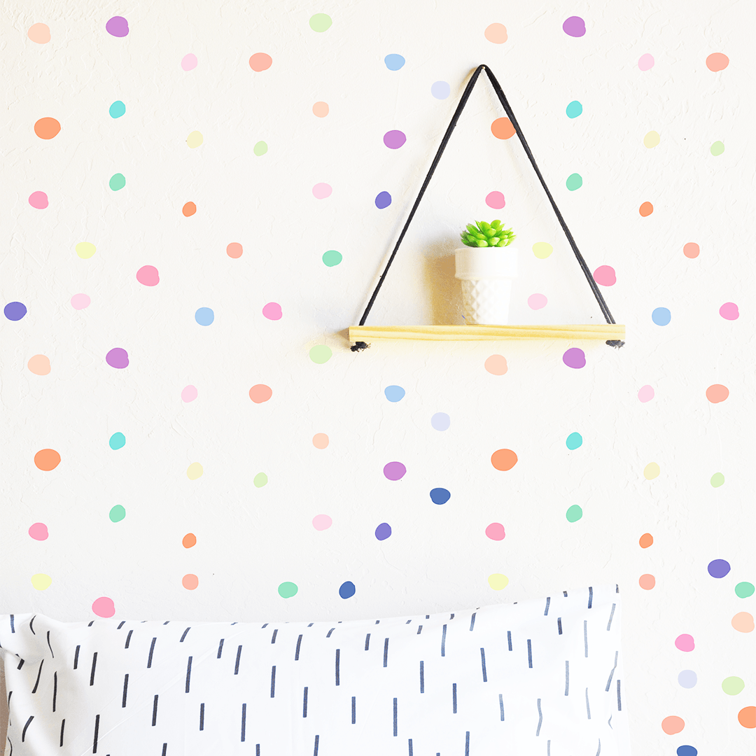 Tiny Hand Drawn Dot Decals - Project Nursery