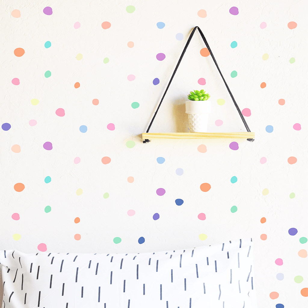 Tiny Hand Drawn Dots Icecream - The Project Nursery Shop - 1