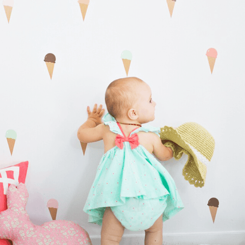 Ice Cream Cone Wall Decals - Project Nursery
