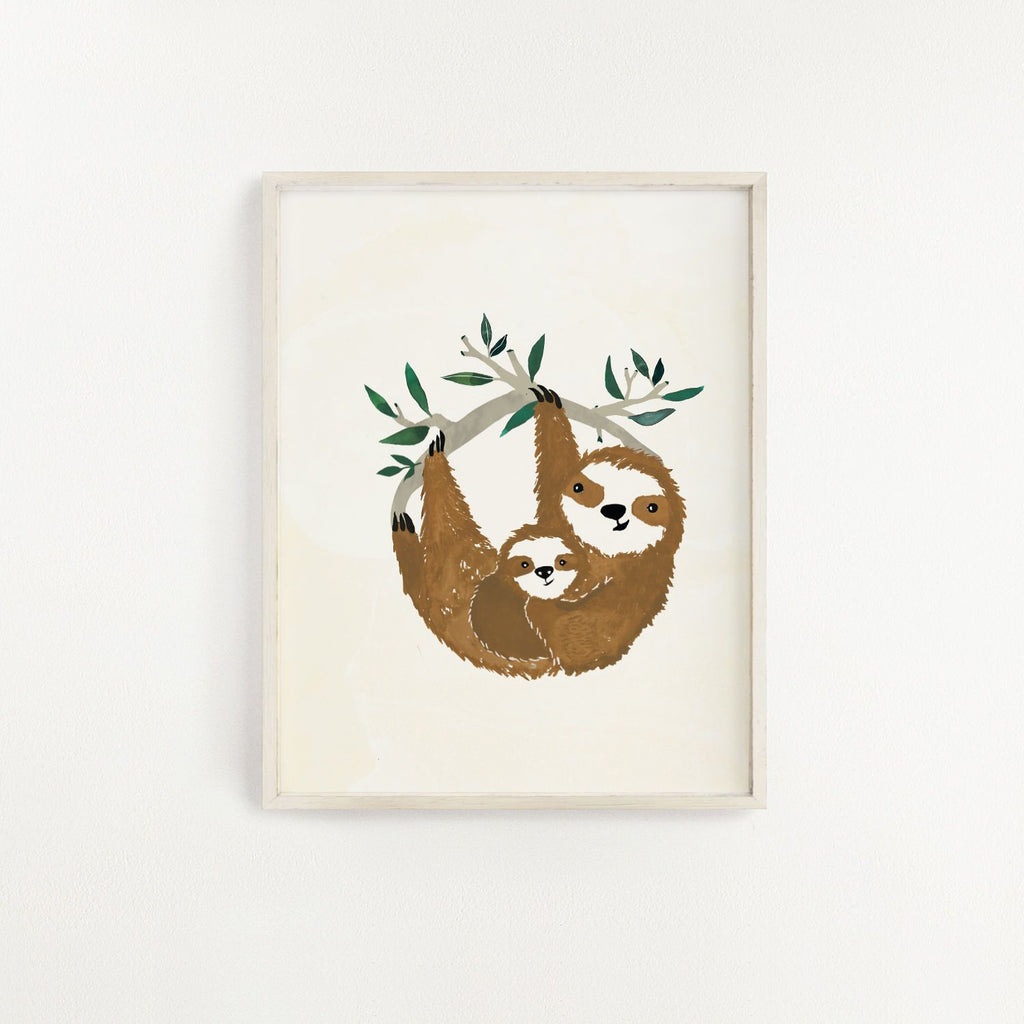 Slow Living Art Print - Project Nursery