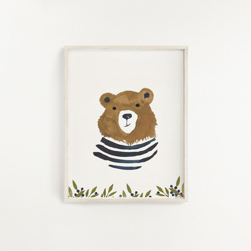 Hucklebear Art Print - Project Nursery