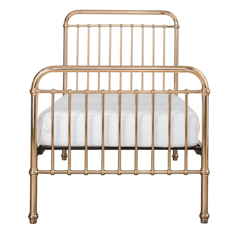 Muse Toddler Bed - Grey/Natural