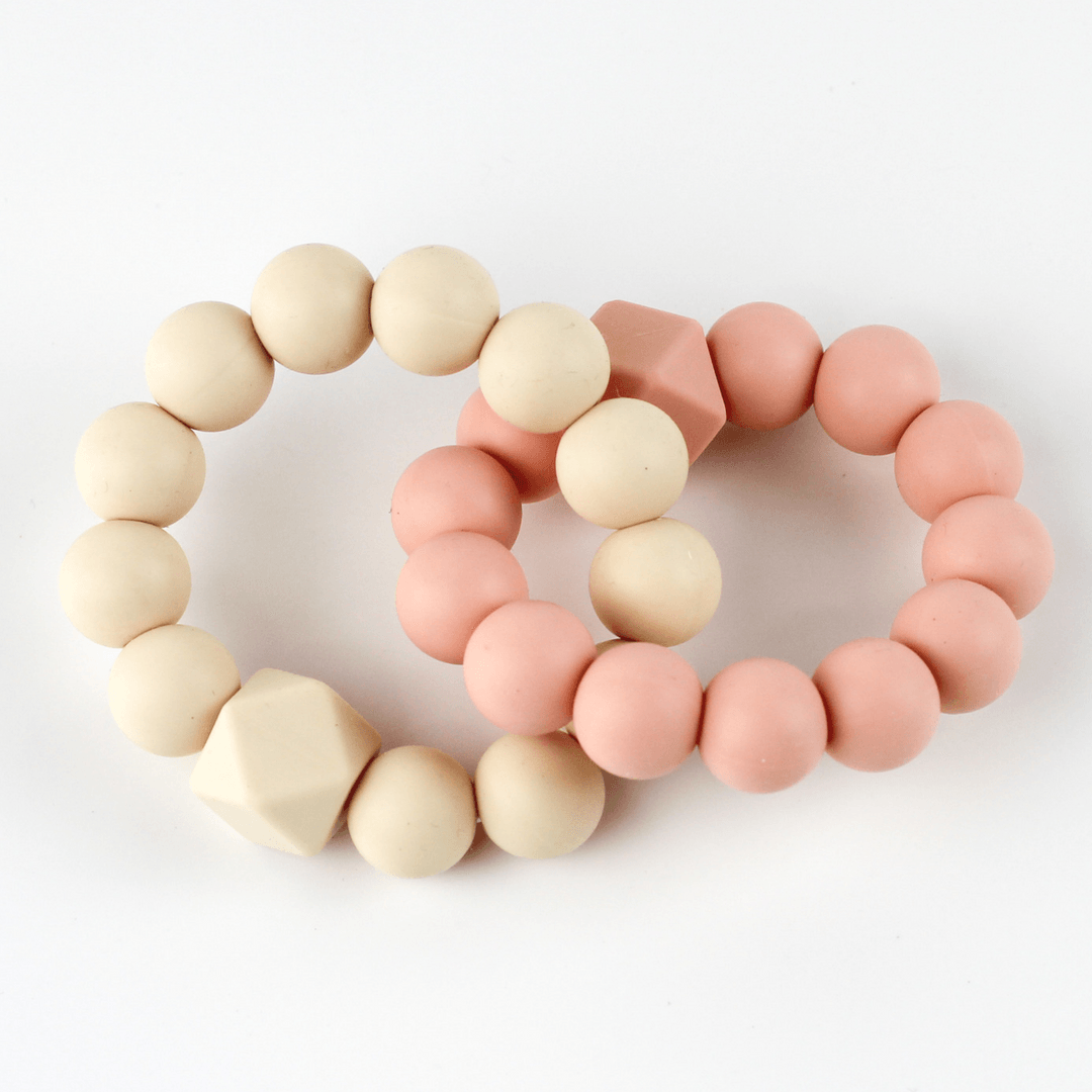 Chew Ring in Peach - Project Nursery
