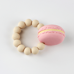 Macaroon Teething Ring - Project Nursery