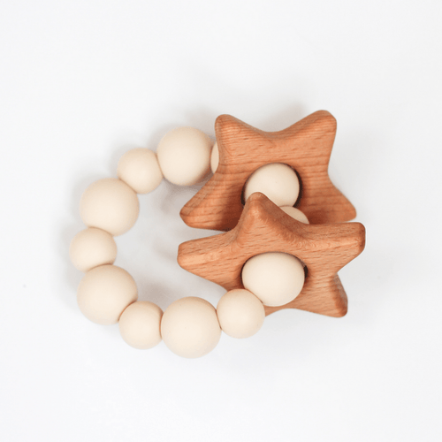 Star Teething Rattle - Project Nursery