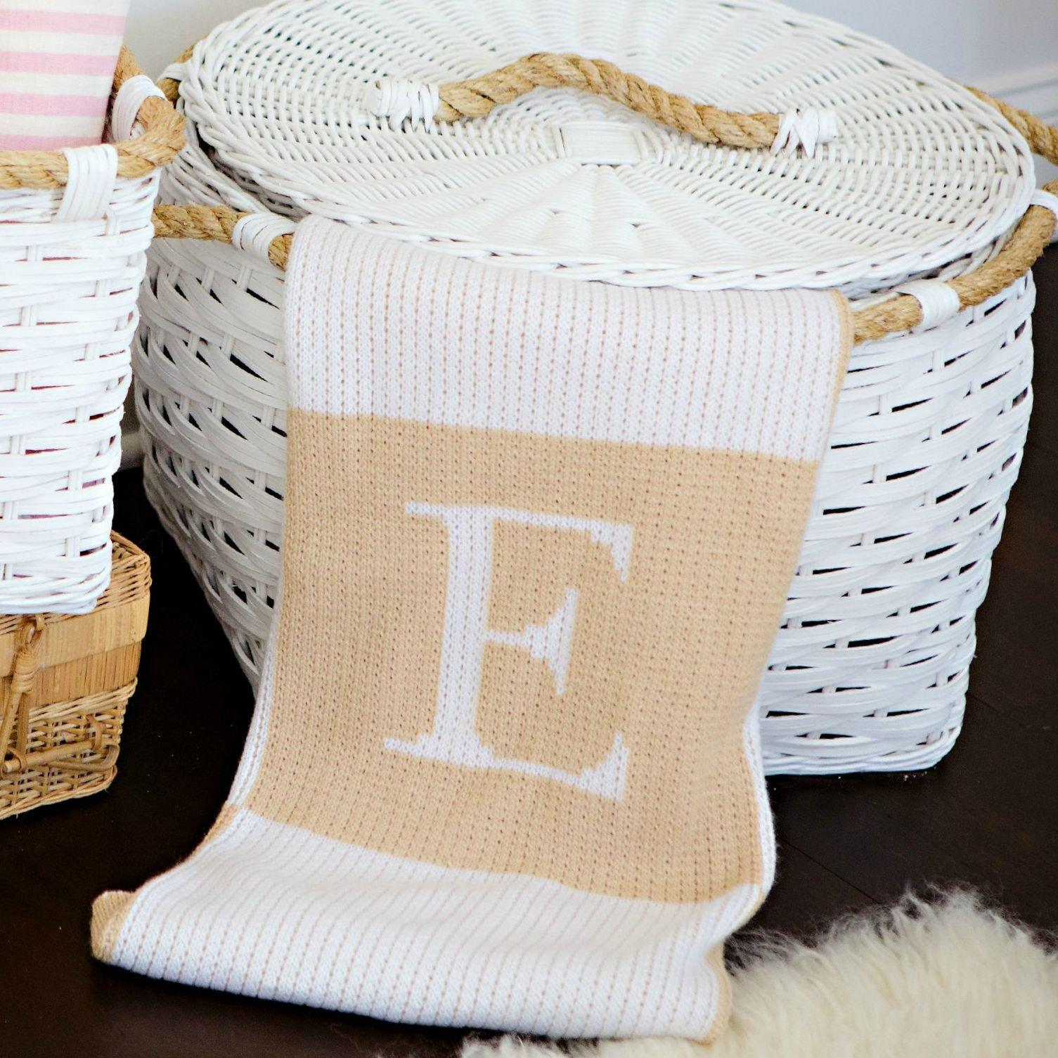 Initial and Blocks Blanket - Project Nursery