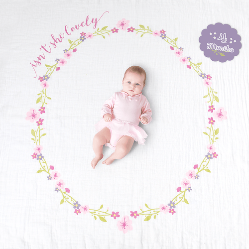 Isn't She Lovely Milestone Blanket & Card Set - Project Nursery