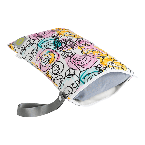 SNACK HAPPENS MINI REUSABLE SNACK AND EVERYTHING BAG - POSY POP
