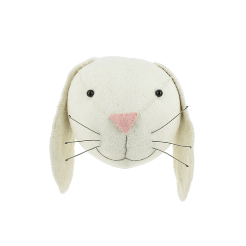 Ivory Bunny Head - Project Nursery