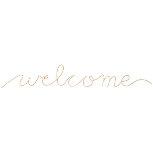 Welcome Word Art Wall Hanging - Project Nursery