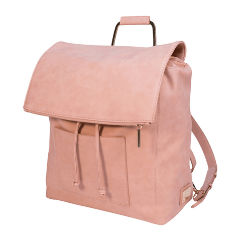 Robyn Faux Leather Diaper Bag - Dusty Rose