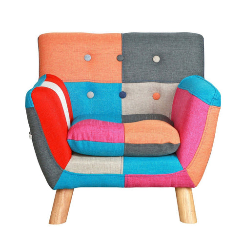 Jacey Kids Patchwork Chair - Project Nursery