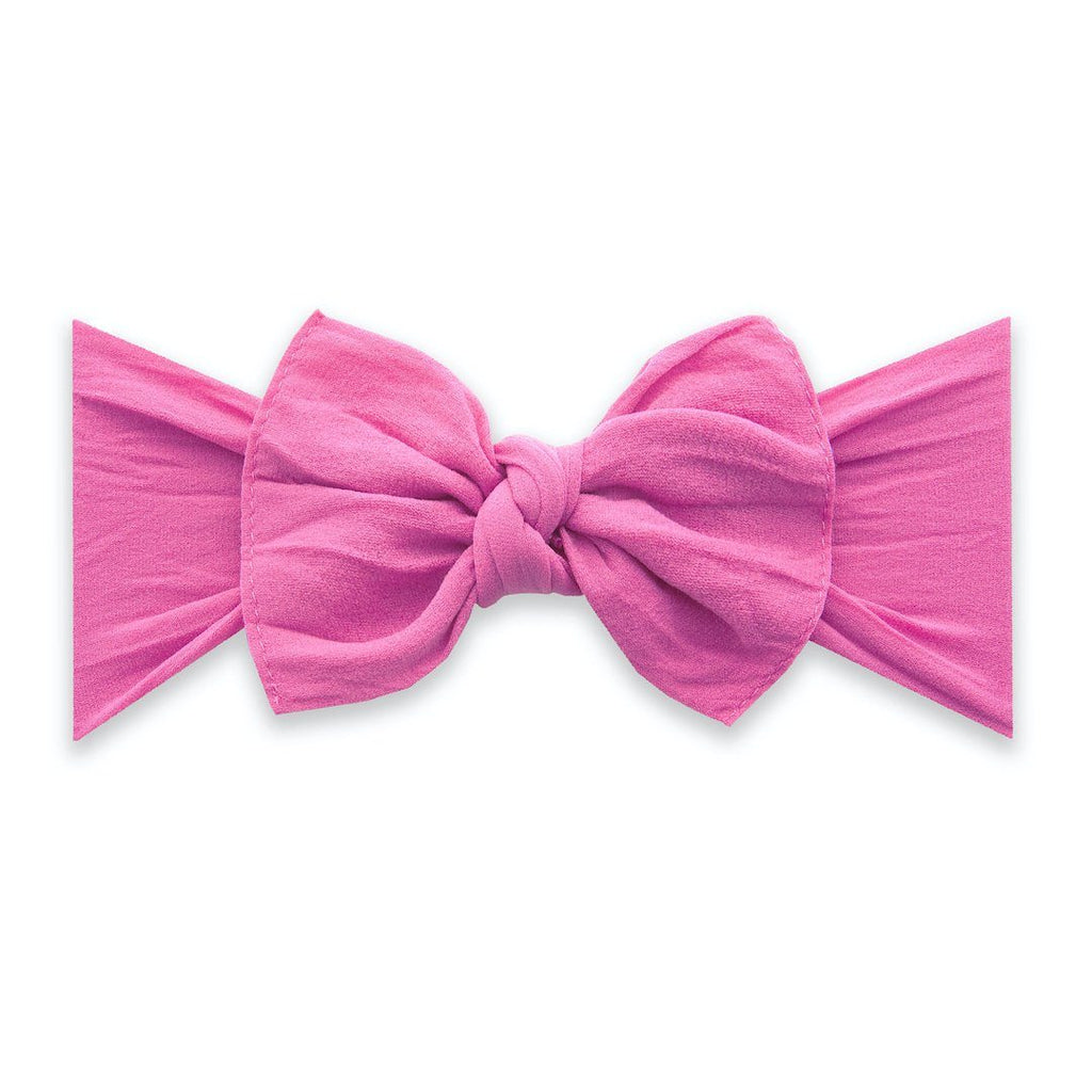 Hot Pink Classic Knot Headband - Project Nursery