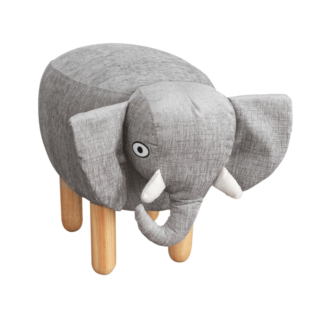 Heffy the Elephant Ottoman - Project Nursery