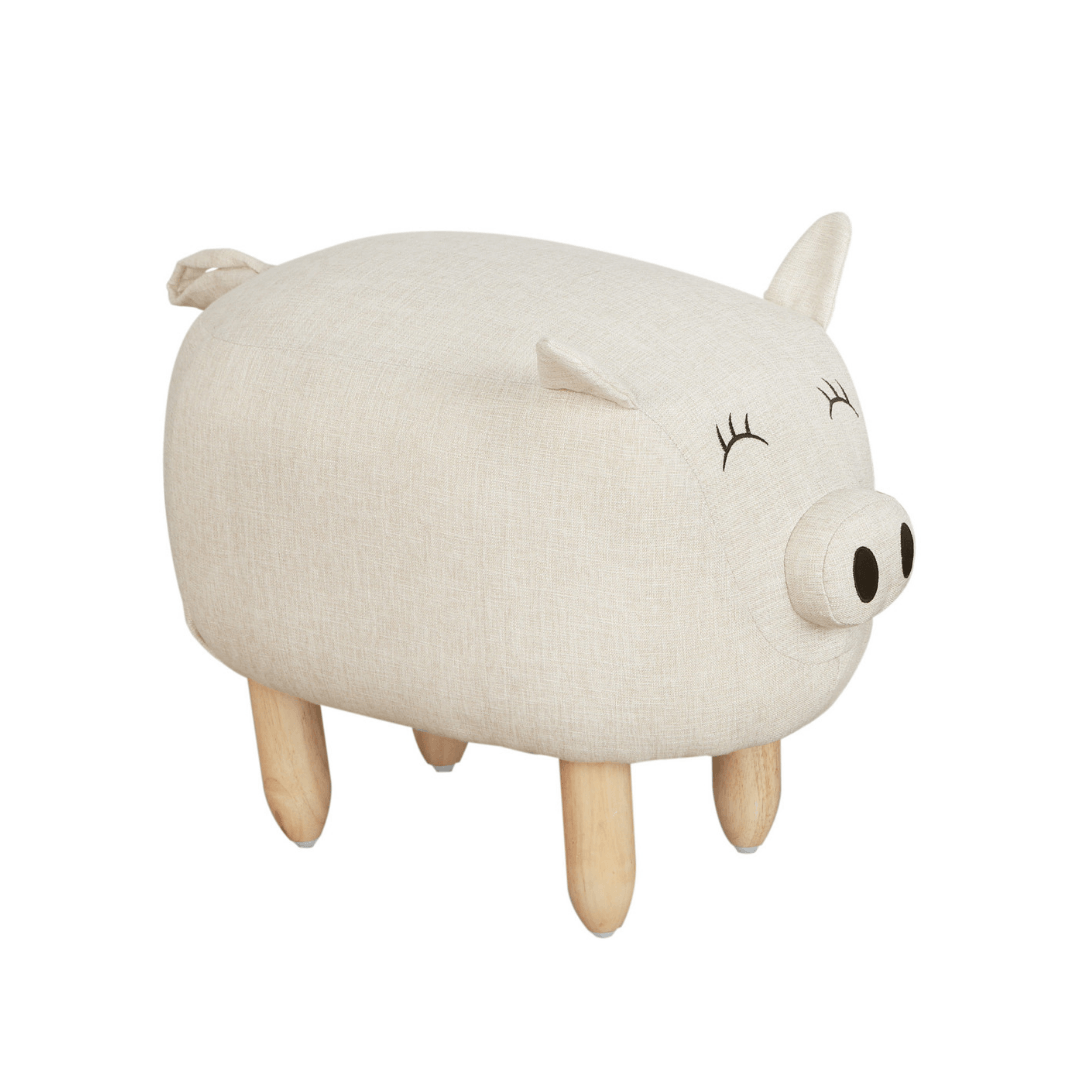 Piggy the Pig Ottoman - Project Nursery