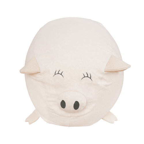 Pigster the Pig Kids Bean Bag Chair - Project Nursery