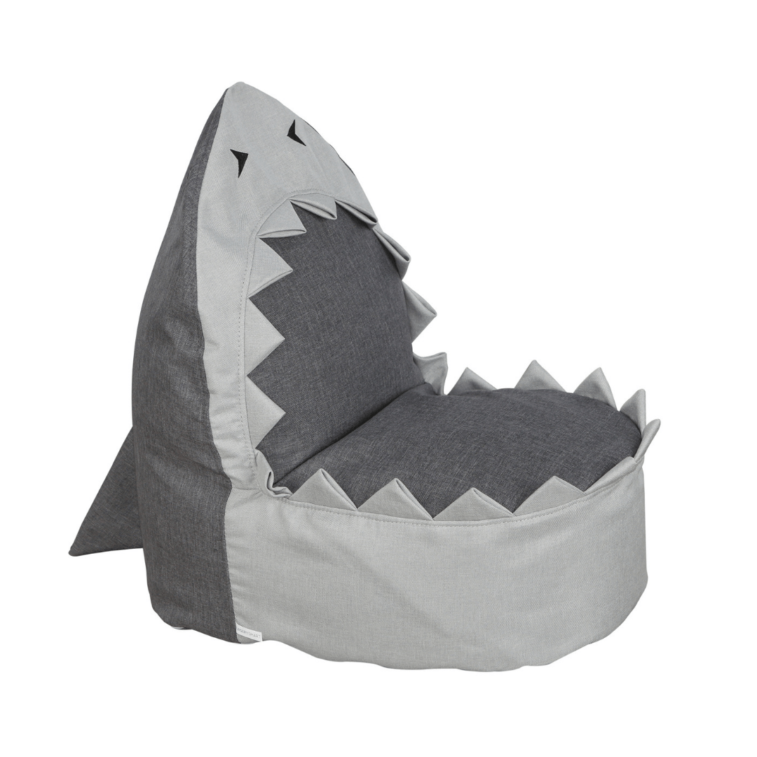 Sharky the Shark Bean Bag Chair - Project Nursery