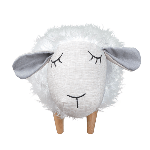 Sheepy the Sheep Ottoman - Project Nursery