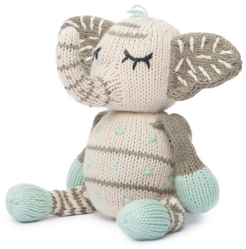 Rattle Buddy - Kellan the Elephant  - The Project Nursery Shop - 3