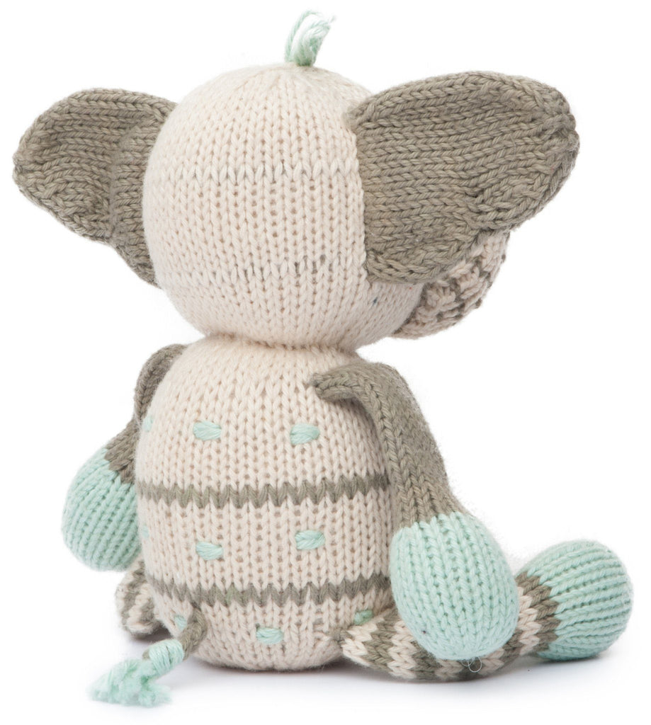 Rattle Buddy - Kellan the Elephant  - The Project Nursery Shop - 4