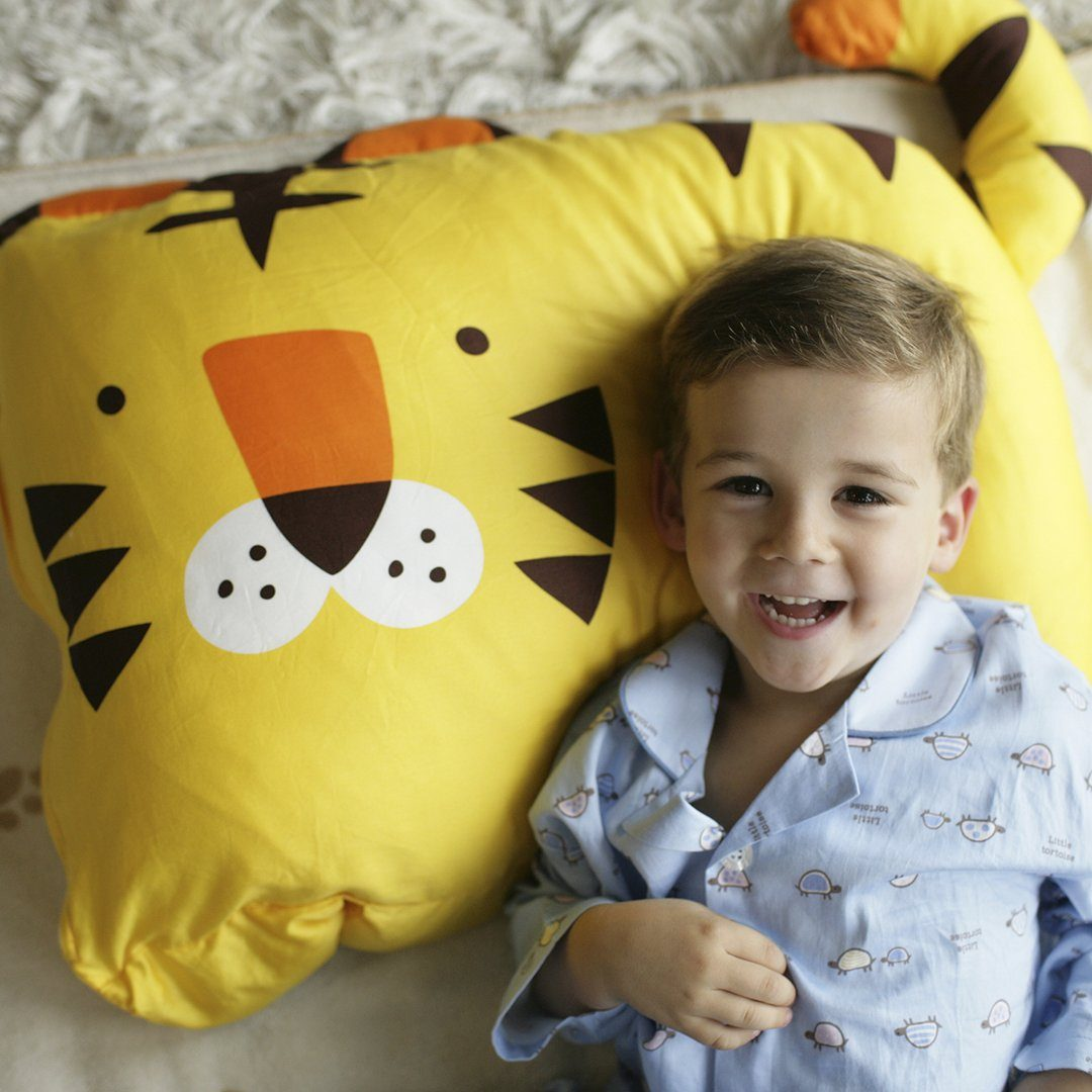 Tom Tiger Kids Pillowcase - Project Nursery