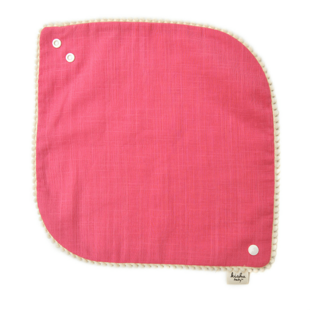 Pom Pom Bib Set - Pink - Project Nursery