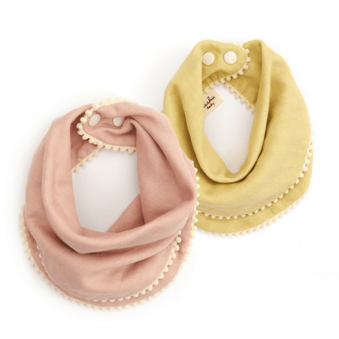 3-Piece Mauve Knot Headband Set