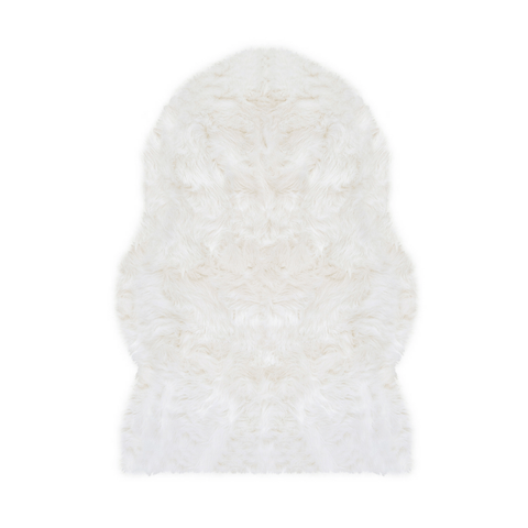 Ivory Pom Pom Rug - Multiple Sizes