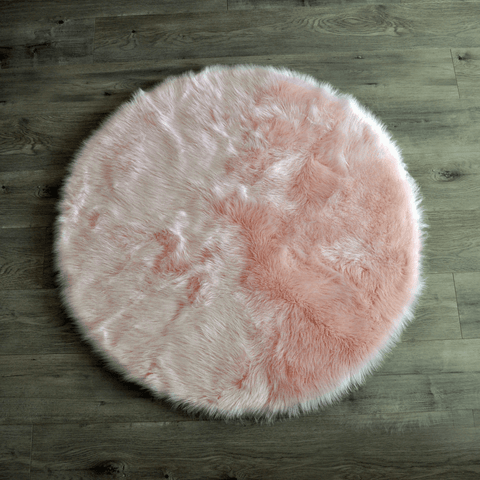 Faux Sheepskin Rectangular Area Rug