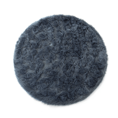 Faux Sheepskin Round Area Rug - Project Nursery