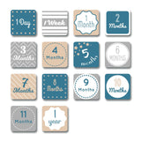 I Will Move Mountains Milestone Blanket & Card Set  - The Project Nursery Shop - 5