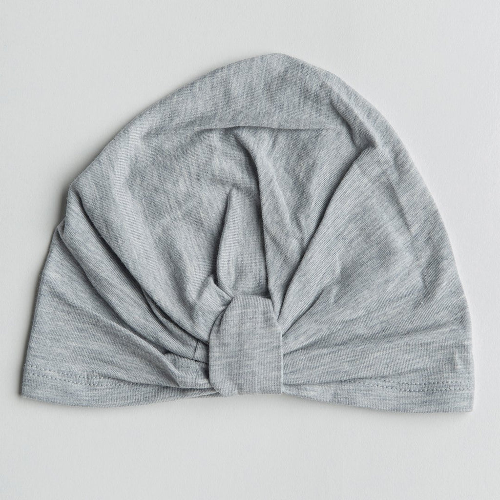 Heather Gray Twist Front Hat - Project Nursery