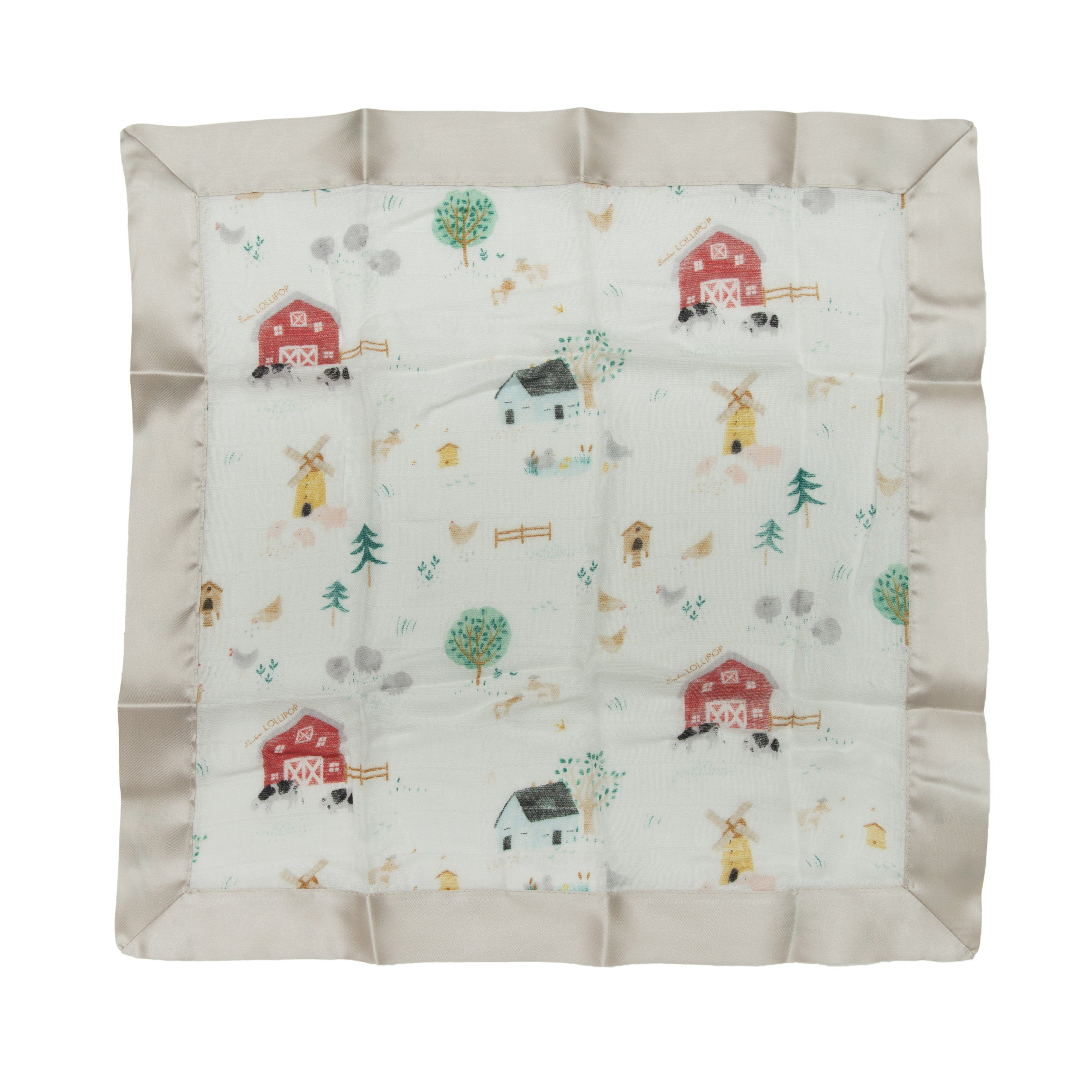 Farm Animals Security Blankets - 2 pack - Project Nursery