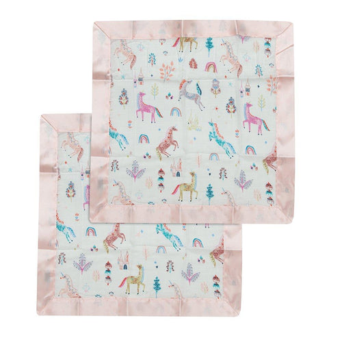 Unicorn Dream Security Blanket - 2 pack - Project Nursery