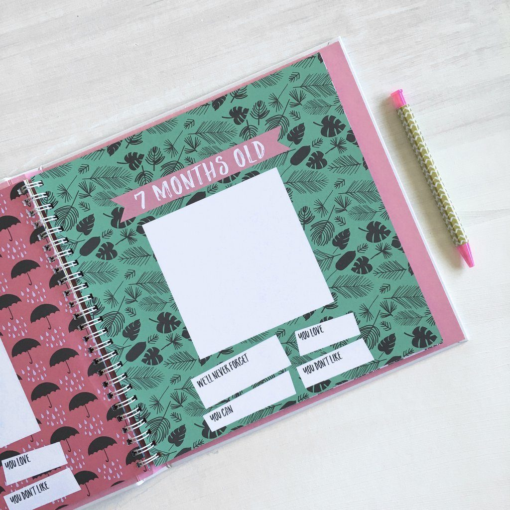 Little Love Memory Book  - The Project Nursery Shop - 5