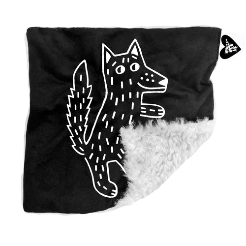 Wolf Security Blanket - Project Nursery