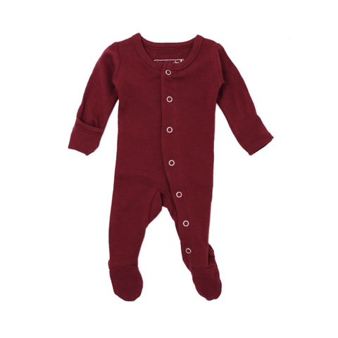 Organic Cute Cap - Cranberry