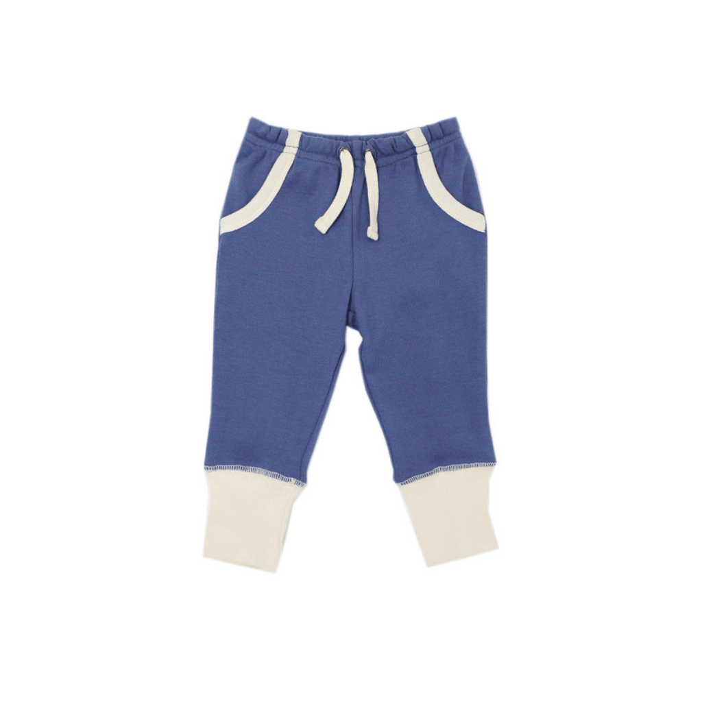 Organic Jogger Pants - Slate - Project Nursery