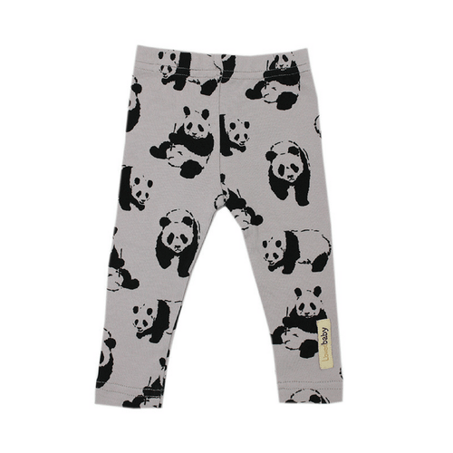Organic Panda Leggings - Project Nursery