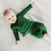 Organic Thermal Long Sleeve Shirt - Emerald - Project Nursery