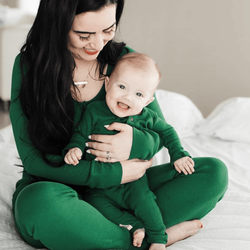 Organic Thermal Women's Onesie - Emerald - Project Nursery
