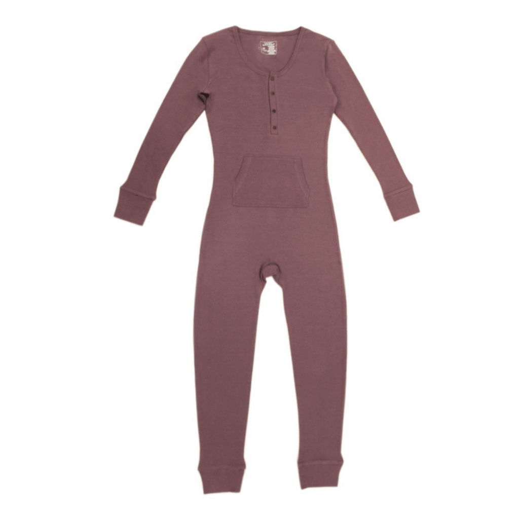 Organic Thermal Women's Onesie - Amethyst - Project Nursery