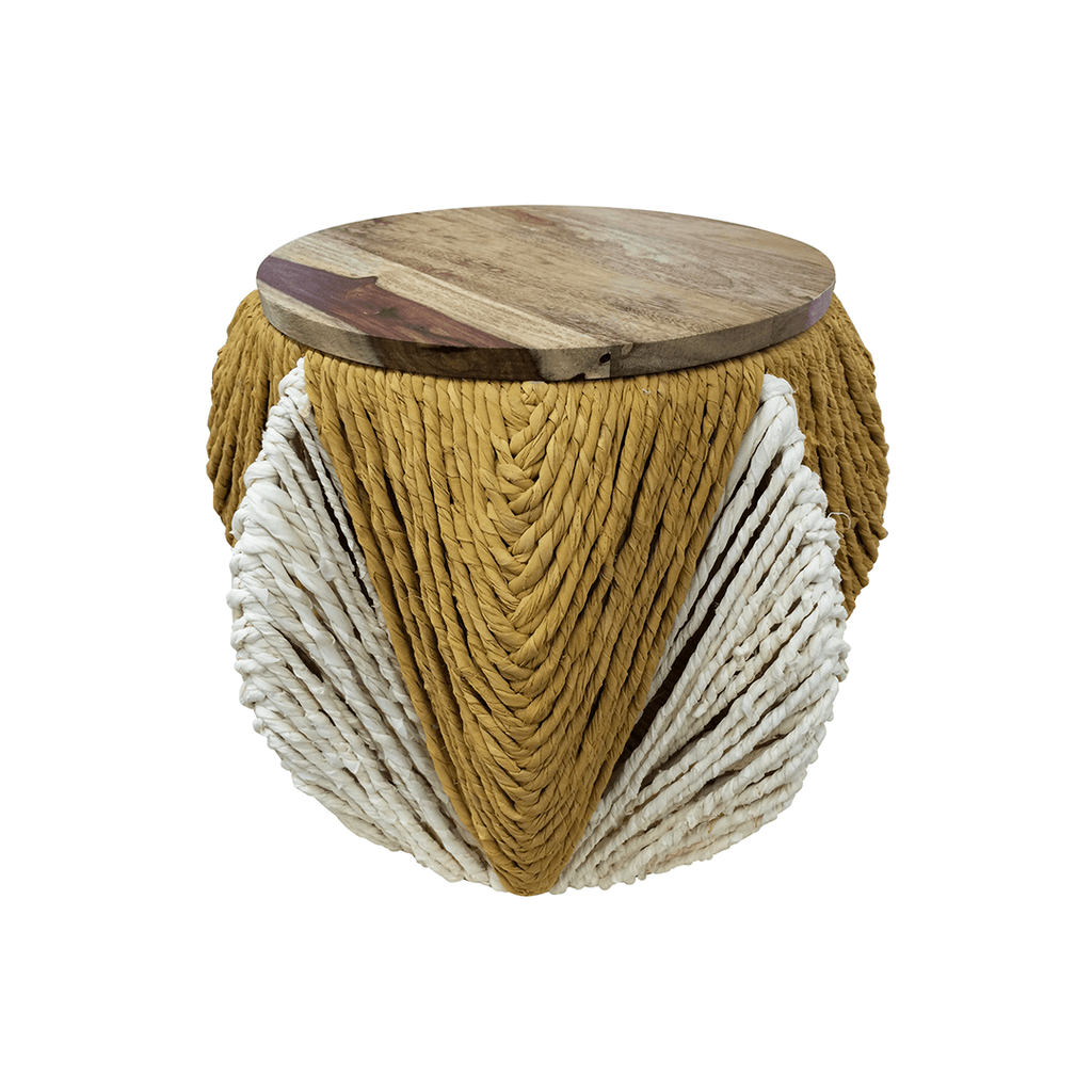 Lala Round Stool with Storage  - The Project Nursery Shop - 1
